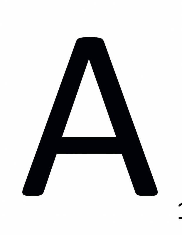 Carrelage scrabble lettre A 10 x 10 cm - LE0804001