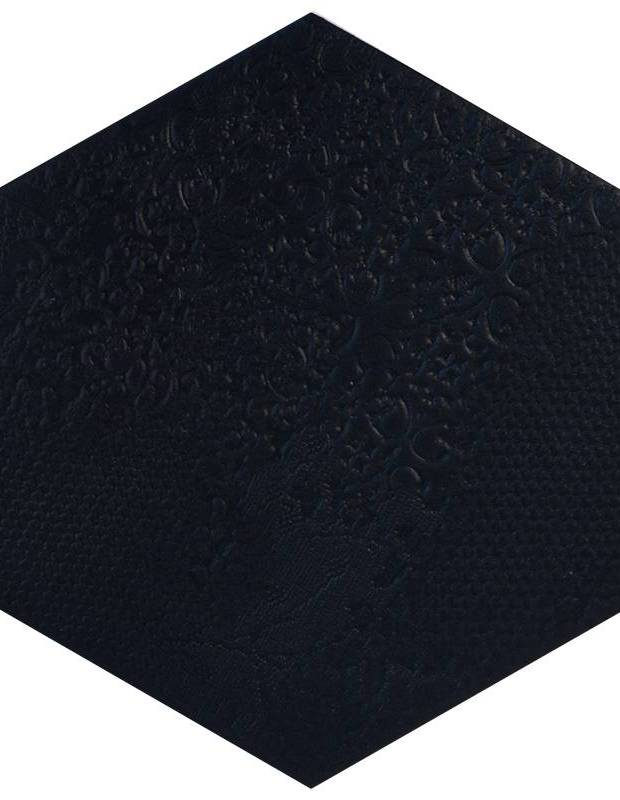 Carrelage hexagonal noir - MI2406002