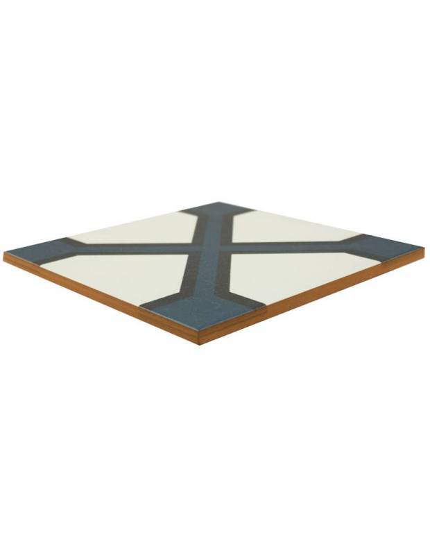 Carrelage imitation carreau ciment sol et mur 20 x 20 cm - NE0108021