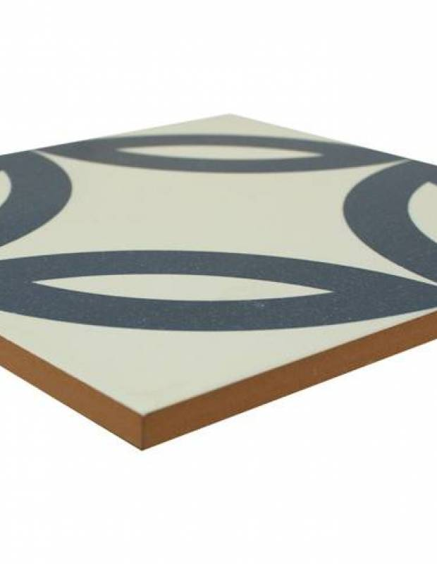 Carrelage imitation carreau ciment sol et mur 20 x 20 cm - NE0108022