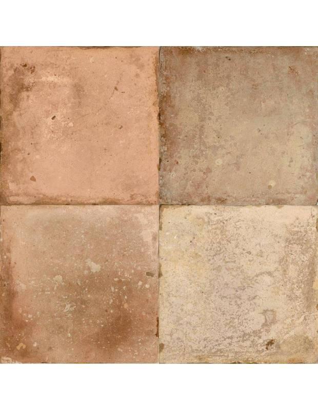 Carrelage rétro sol mat noir 45 x 45 cm - MI0913002