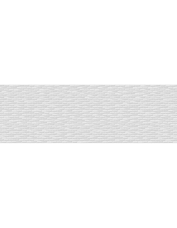 Carrelage mural au design moderne - blanc brillant - 25x75cm - FA7516001