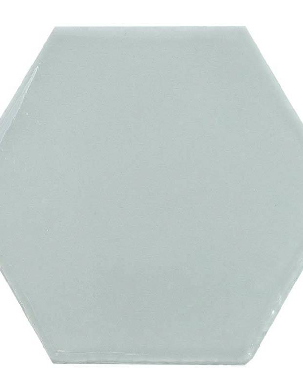 carrelage gris clair hexagonal mural style artisanal ce1406044. Black Bedroom Furniture Sets. Home Design Ideas