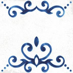 Carrelage style azulejo effet ancien patchwork - BL5902001