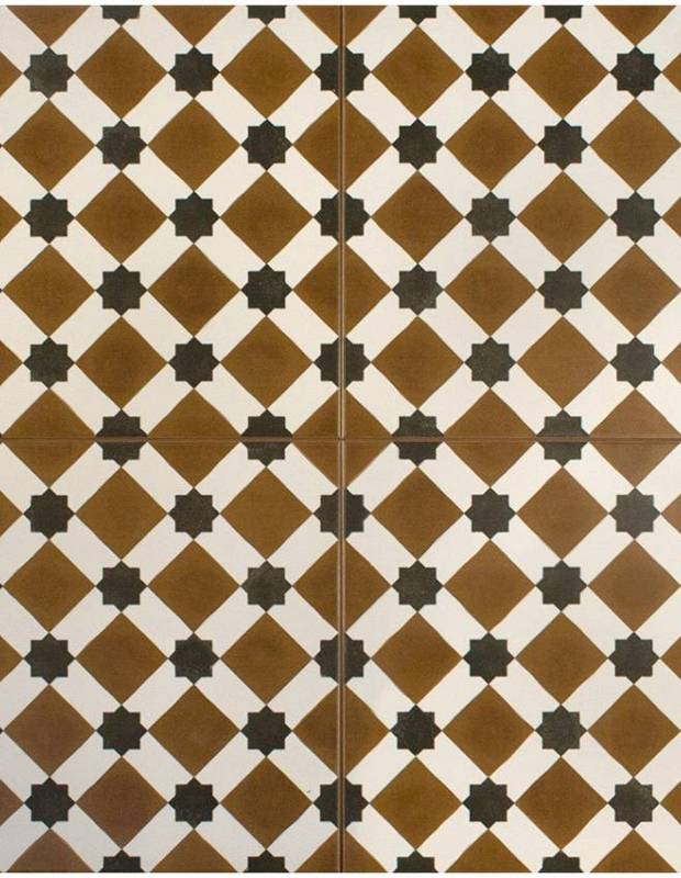 Carrelage imitation carreau ciment sol 45 x 45 cm he1105001 for Carrelage imitation carreau ciment