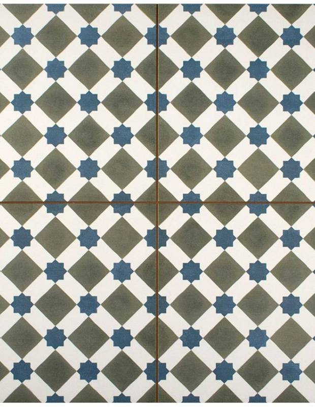 Carrelage imitation carreau ciment sol 45 x 45 cm he1105002 for Carrelage imitation carreau ciment