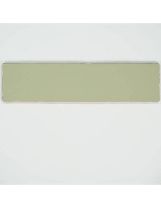 Carrelage rétro mural brillant gris 7.5 x 30 cm - AL0801033