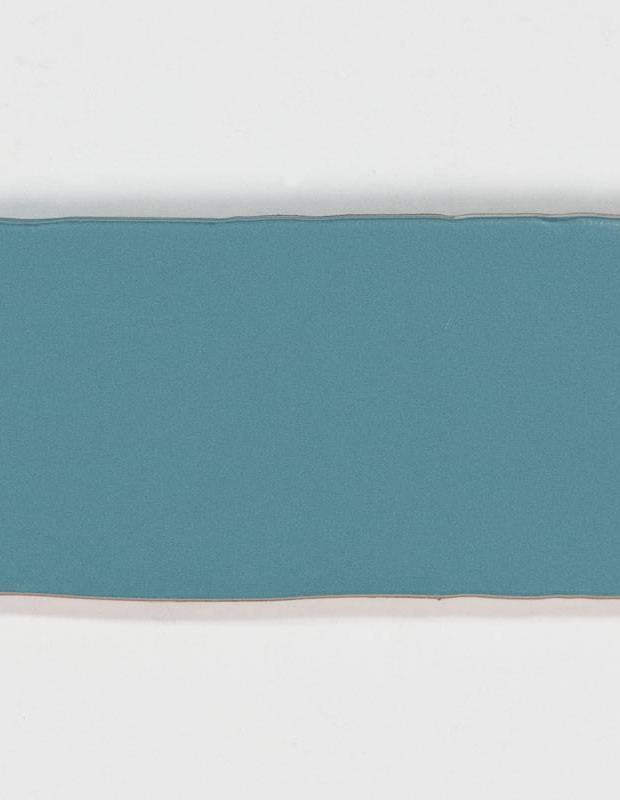 Carrelage rétro mural satiné bleu - AN0802020