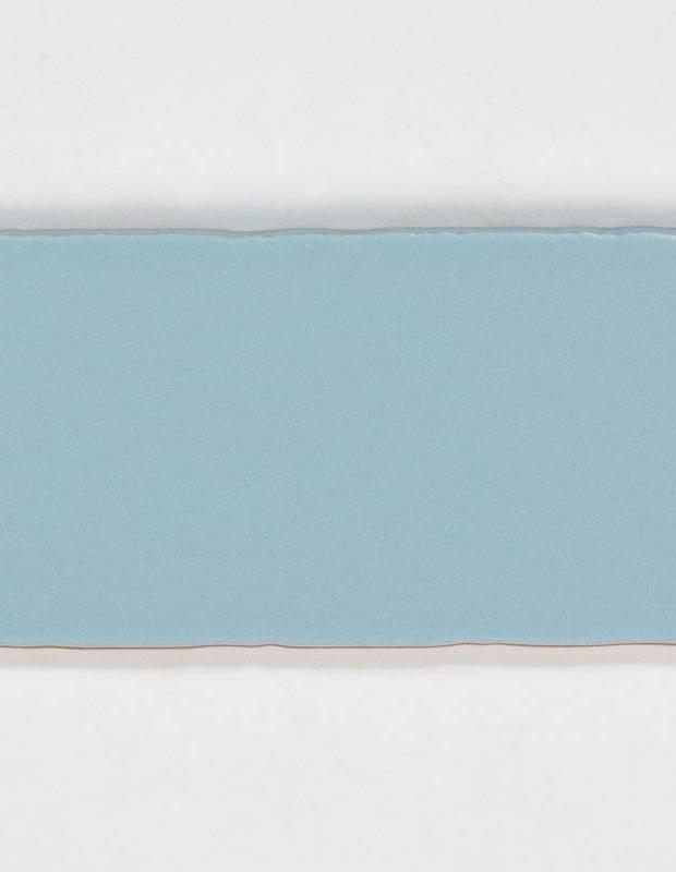 Carrelage rétro mural satiné bleu - AN0802030