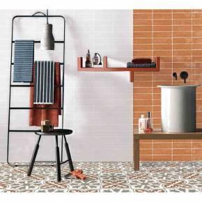 Carrelage imitation carreau ciment sol et mur 15 x 15 cm - VI0202014