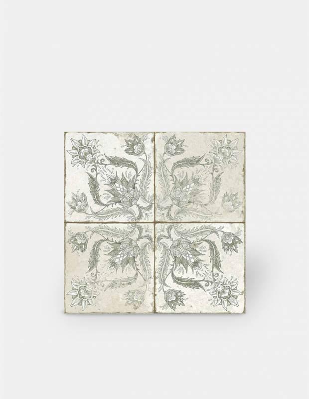 Carrelage imitation carreau ciment sol et mur 20 x 20 cm - VI0203028