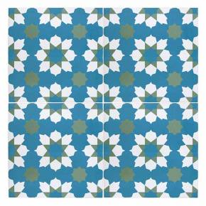 Carrelage imitation carreau ciment sol et mur 15 x 15 cm - VI0202016