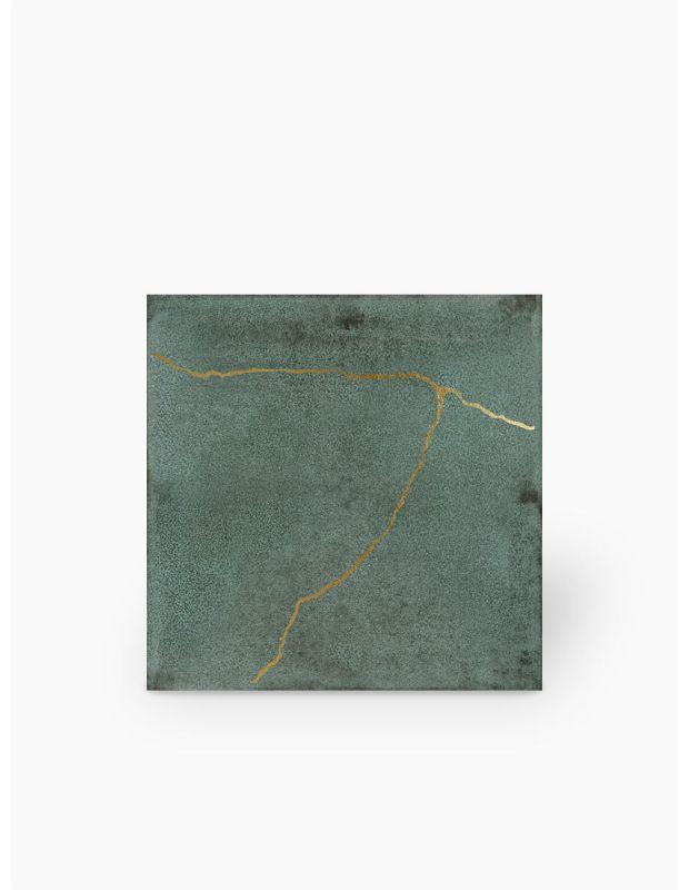 """Carrelage design lettre """"D"""" 10x10 cm mat blanc 10 x 10 cm - LE0804004"""