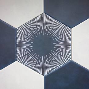 Carrelage design mural mat blanc 10 x 10 cm - LE0804027