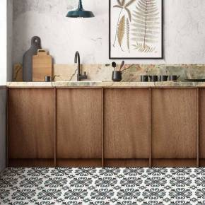 Carrelage design mural mat marron - CE0111010