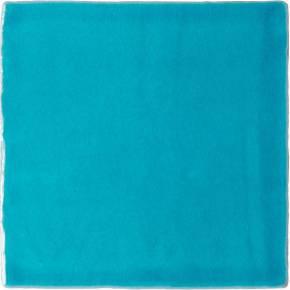 Carrelage mural ancien brillant bleu 13 x 13 cm - PR0810007